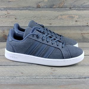 adidas Grand Court Men's Casual Canvas Sneakers